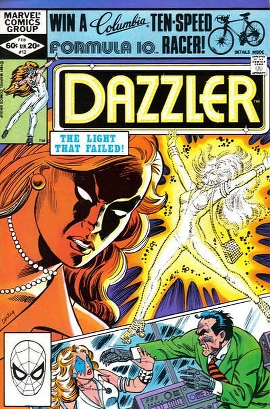Cover of Dazzler (Vol 1) #12. One of 250,000 Vintage American Comics on sale from Krypton!