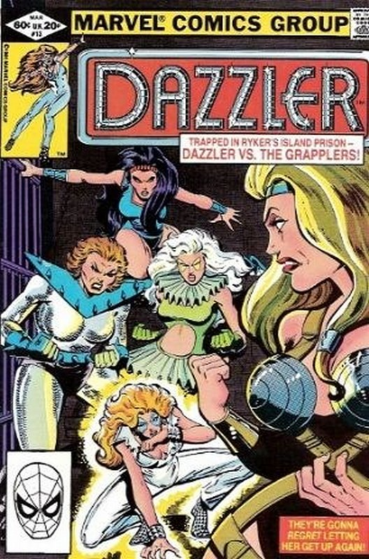 Cover of Dazzler (Vol 1) #13. One of 250,000 Vintage American Comics on sale from Krypton!