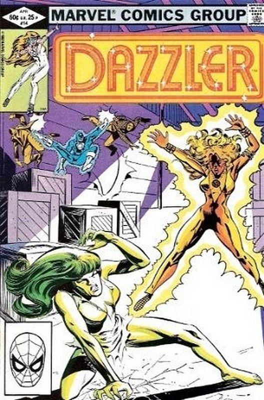 Cover of Dazzler (Vol 1) #14. One of 250,000 Vintage American Comics on sale from Krypton!