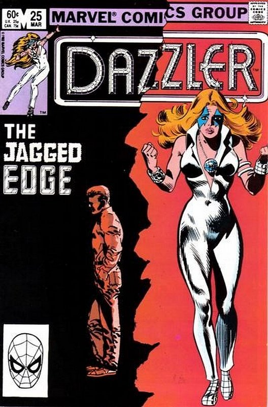 Cover of Dazzler (Vol 1) #25. One of 250,000 Vintage American Comics on sale from Krypton!