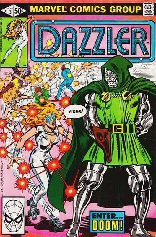 Cover of Dazzler (Vol 1) #3. One of 250,000 Vintage American Comics on sale from Krypton!