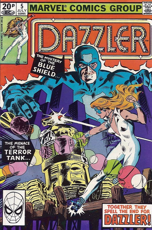 Cover of Dazzler (Vol 1) #5. One of 250,000 Vintage American Comics on sale from Krypton!