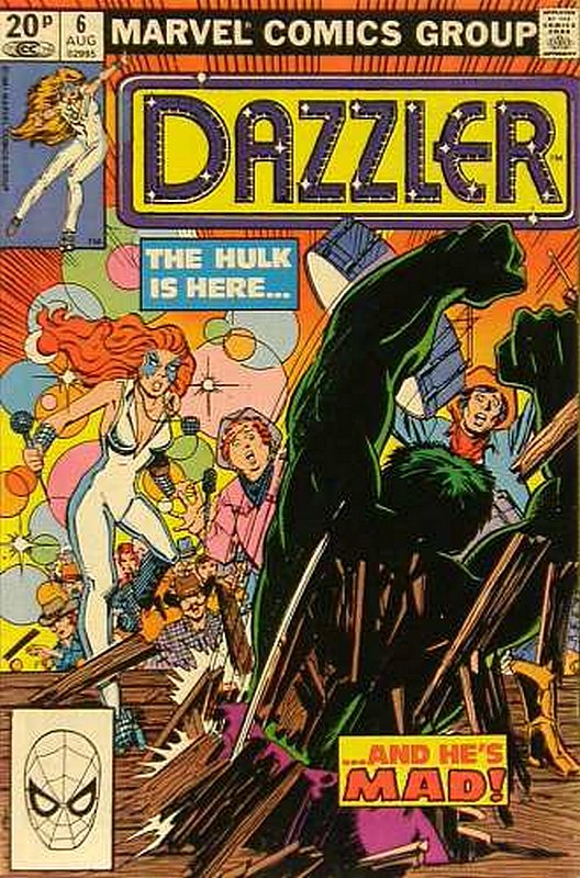 Cover of Dazzler (Vol 1) #6. One of 250,000 Vintage American Comics on sale from Krypton!