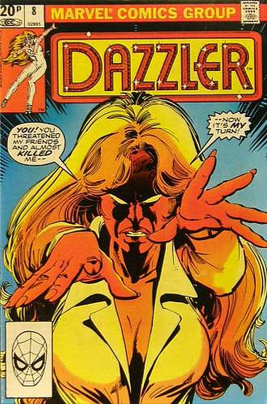 Cover of Dazzler (Vol 1) #8. One of 250,000 Vintage American Comics on sale from Krypton!