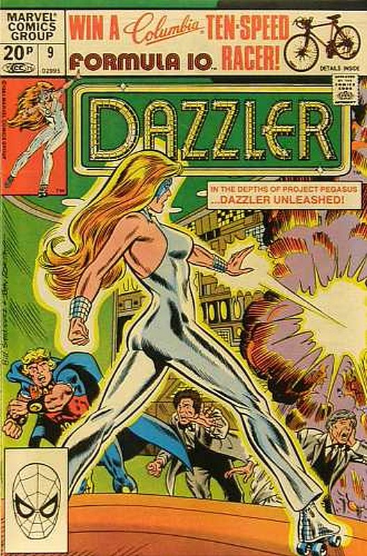 Cover of Dazzler (Vol 1) #9. One of 250,000 Vintage American Comics on sale from Krypton!