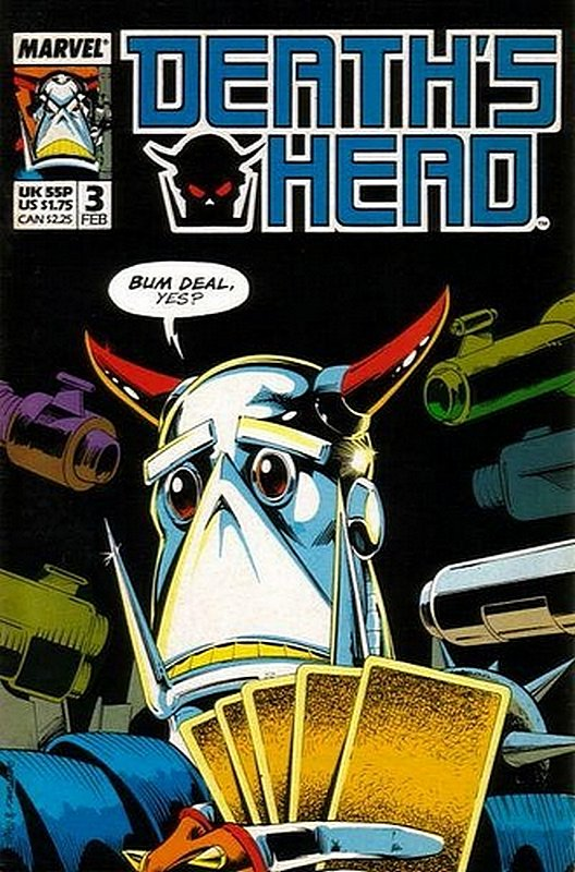 Cover of Deaths Head (Vol 1) #3. One of 250,000 Vintage American Comics on sale from Krypton!
