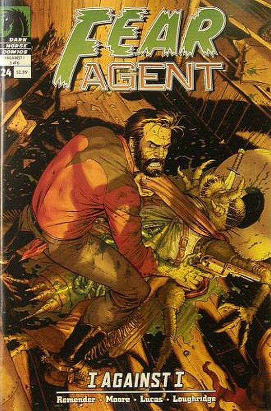 Cover of Fear Agent (Vol 1) #24. One of 250,000 Vintage American Comics on sale from Krypton!