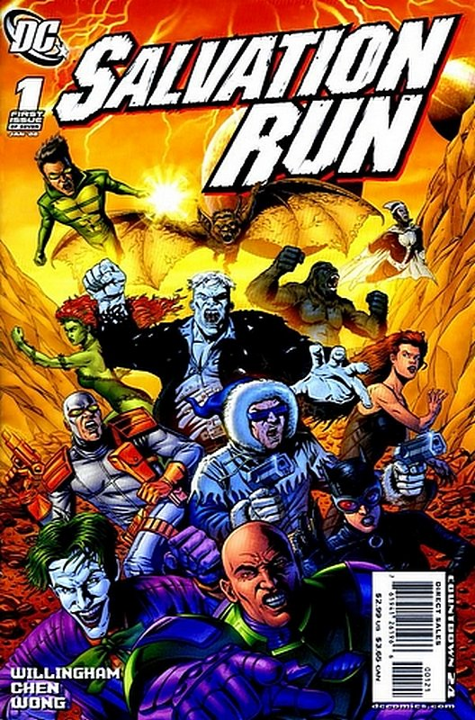 Cover of Salvation Run (2007 Ltd) #1. One of 250,000 Vintage American Comics on sale from Krypton!