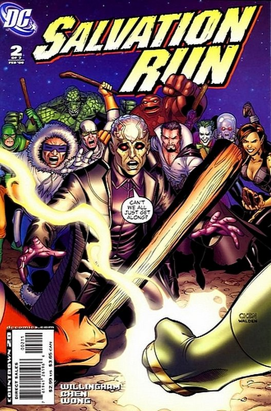 Cover of Salvation Run (2007 Ltd) #2. One of 250,000 Vintage American Comics on sale from Krypton!