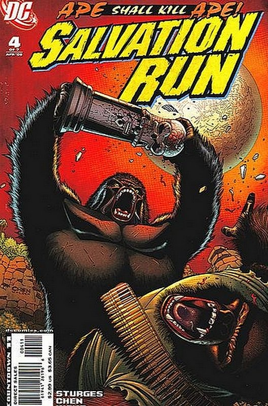 Cover of Salvation Run (2007 Ltd) #4. One of 250,000 Vintage American Comics on sale from Krypton!