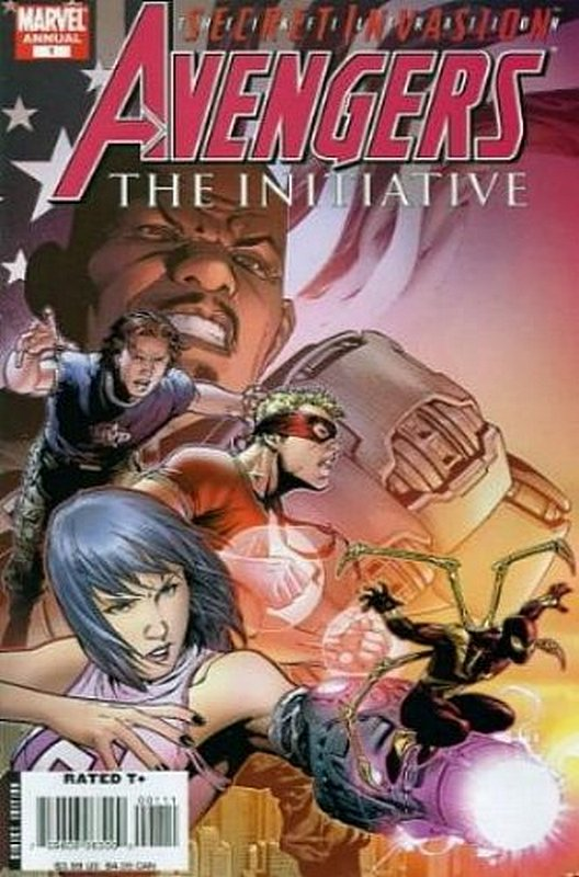 Cover of Avengers Initiative Annual (2007 One Shot) #1. One of 250,000 Vintage American Comics on sale from Krypton!