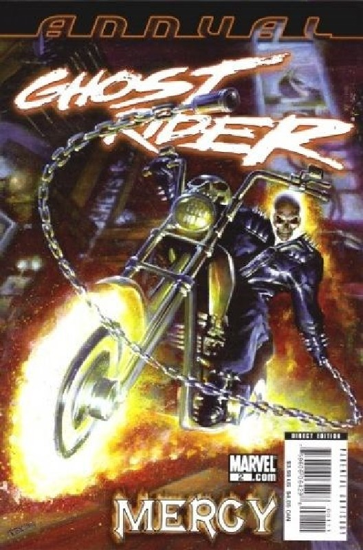 Cover of Ghost Rider Annual (Vol 3) #2. One of 250,000 Vintage American Comics on sale from Krypton!
