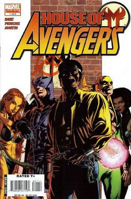 Cover of House of M: Avengers (2007 Ltd) #1. One of 250,000 Vintage American Comics on sale from Krypton!