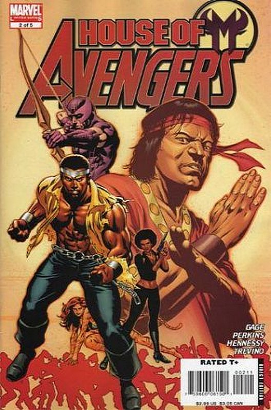 Cover of House of M: Avengers (2007 Ltd) #2. One of 250,000 Vintage American Comics on sale from Krypton!