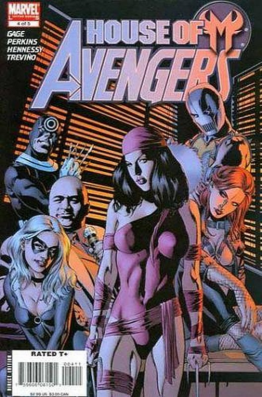Cover of House of M: Avengers (2007 Ltd) #4. One of 250,000 Vintage American Comics on sale from Krypton!