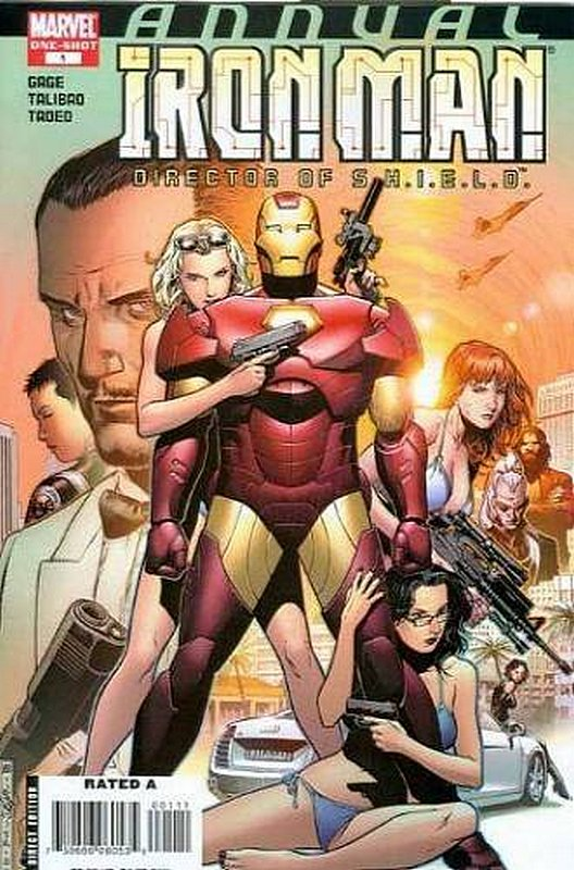 Cover of Iron Man: Director of SHIELD Annual #1. One of 250,000 Vintage American Comics on sale from Krypton!