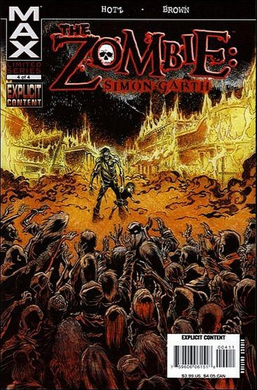 Cover of Zombie: Simon Garth (2007 Ltd) #4. One of 250,000 Vintage American Comics on sale from Krypton!