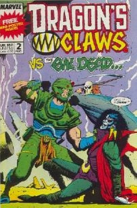 Cover of Dragons Claws (Vol 1) #2. One of 250,000 Vintage American Comics on sale from Krypton!