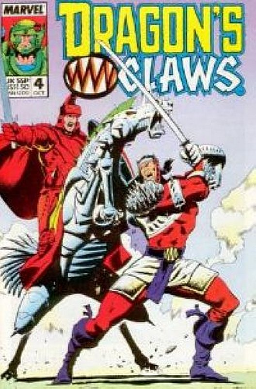Cover of Dragons Claws (Vol 1) #4. One of 250,000 Vintage American Comics on sale from Krypton!