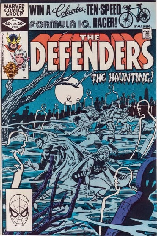 Cover of Defenders (Vol 1) #103. One of 250,000 Vintage American Comics on sale from Krypton!