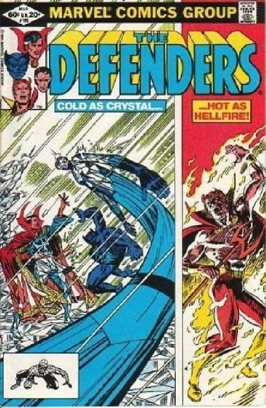 Cover of Defenders (Vol 1) #105. One of 250,000 Vintage American Comics on sale from Krypton!