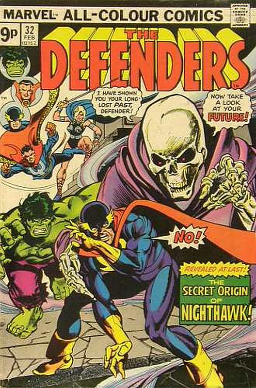 Cover of Defenders (Vol 1) #32. One of 250,000 Vintage American Comics on sale from Krypton!