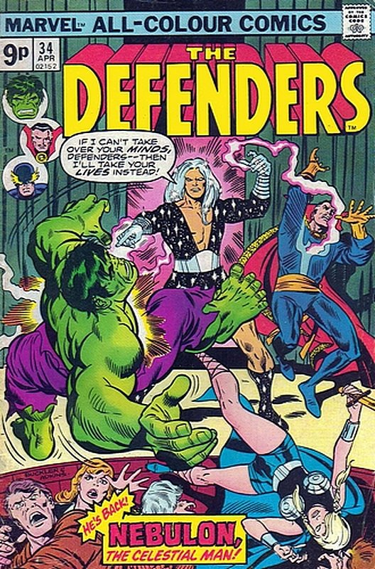 Cover of Defenders (Vol 1) #34. One of 250,000 Vintage American Comics on sale from Krypton!