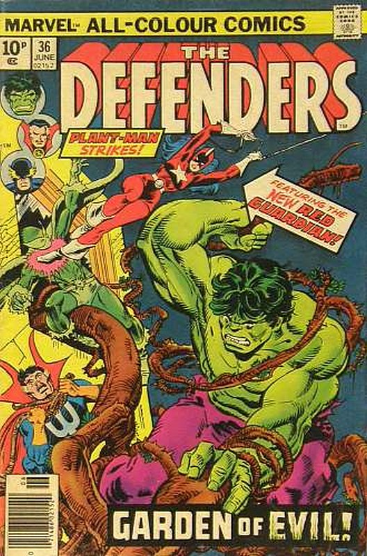 Cover of Defenders (Vol 1) #36. One of 250,000 Vintage American Comics on sale from Krypton!