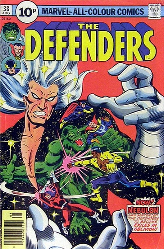 Cover of Defenders (Vol 1) #38. One of 250,000 Vintage American Comics on sale from Krypton!