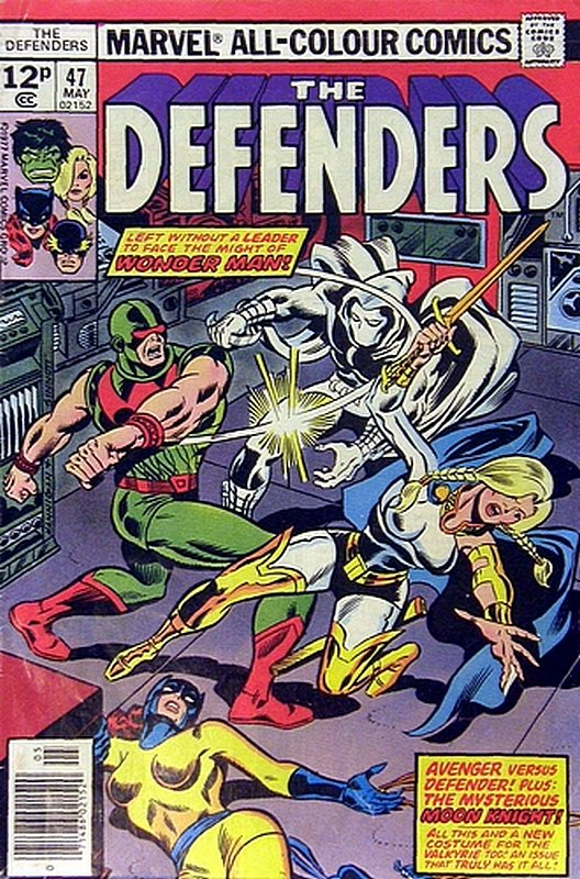 Cover of Defenders (Vol 1) #47. One of 250,000 Vintage American Comics on sale from Krypton!