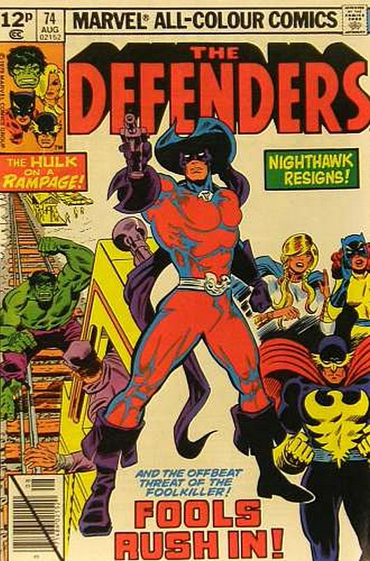 Cover of Defenders (Vol 1) #74. One of 250,000 Vintage American Comics on sale from Krypton!