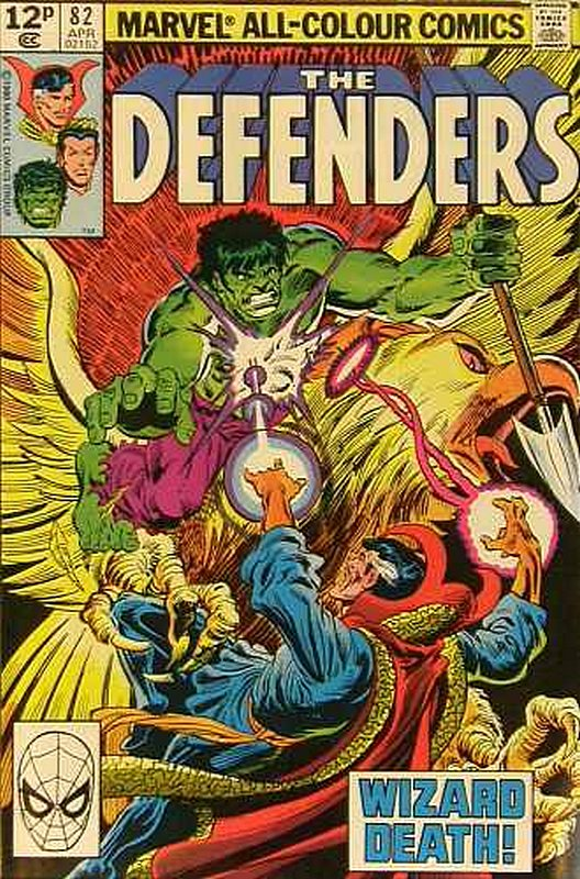 Cover of Defenders (Vol 1) #82. One of 250,000 Vintage American Comics on sale from Krypton!