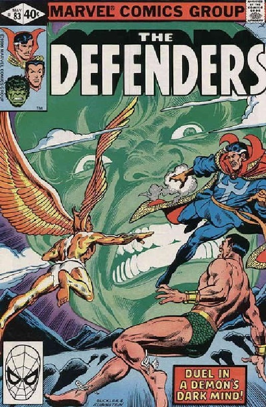 Cover of Defenders (Vol 1) #83. One of 250,000 Vintage American Comics on sale from Krypton!