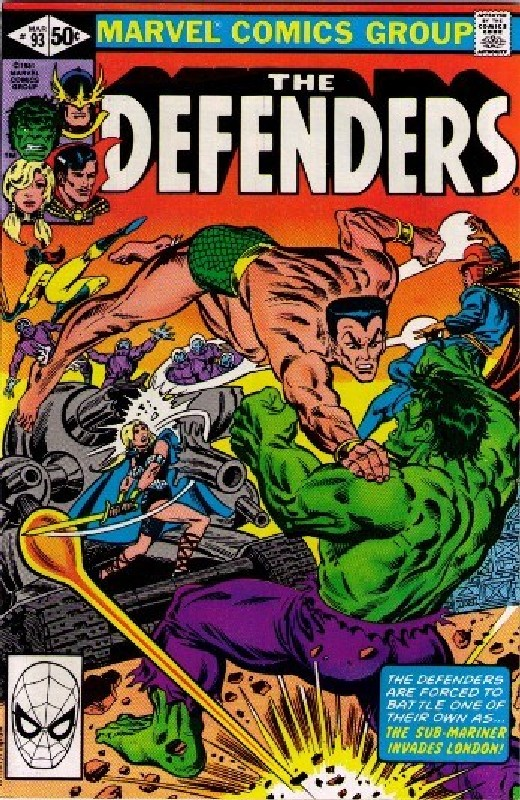 Cover of Defenders (Vol 1) #93. One of 250,000 Vintage American Comics on sale from Krypton!