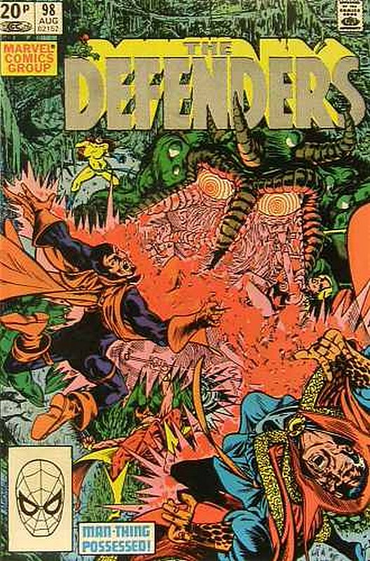 Cover of Defenders (Vol 1) #98. One of 250,000 Vintage American Comics on sale from Krypton!