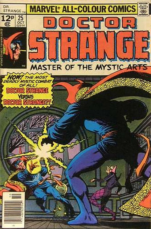 Cover of Doctor Strange (Vol 2) #25. One of 250,000 Vintage American Comics on sale from Krypton!