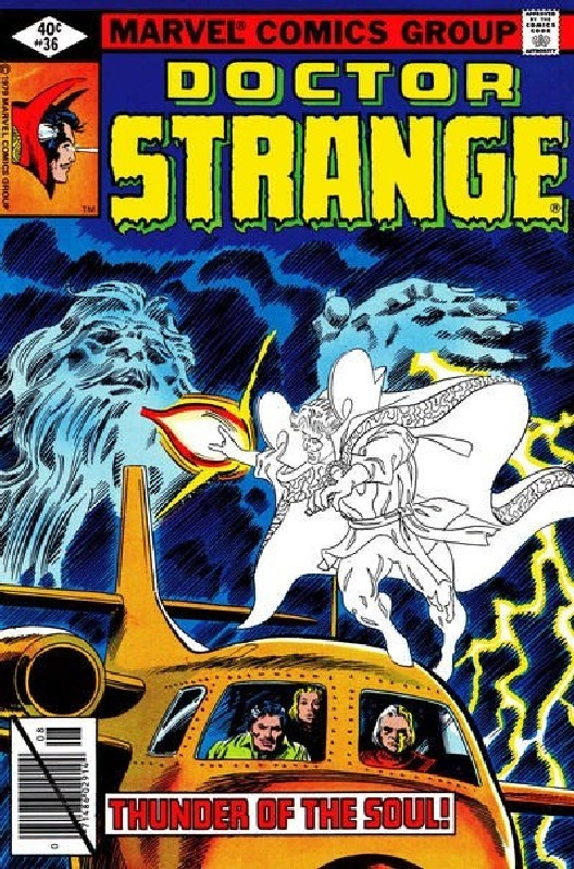 Cover of Doctor Strange (Vol 2) #36. One of 250,000 Vintage American Comics on sale from Krypton!