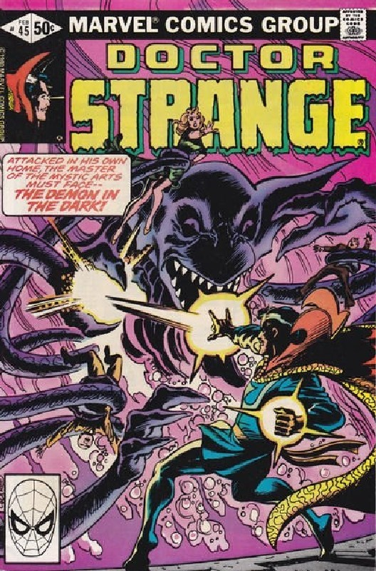 Cover of Doctor Strange (Vol 2) #45. One of 250,000 Vintage American Comics on sale from Krypton!