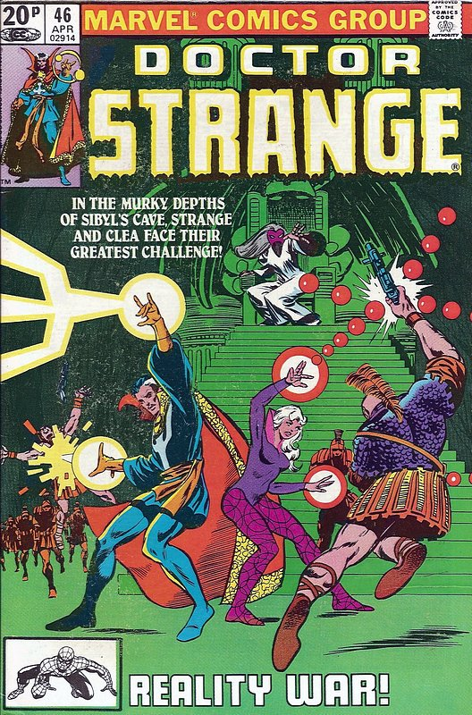 Cover of Doctor Strange (Vol 2) #46. One of 250,000 Vintage American Comics on sale from Krypton!
