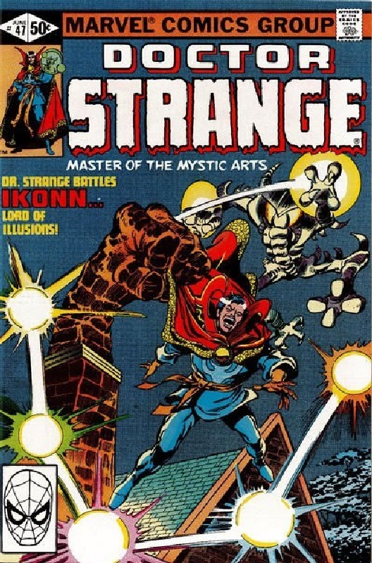 Cover of Doctor Strange (Vol 2) #47. One of 250,000 Vintage American Comics on sale from Krypton!