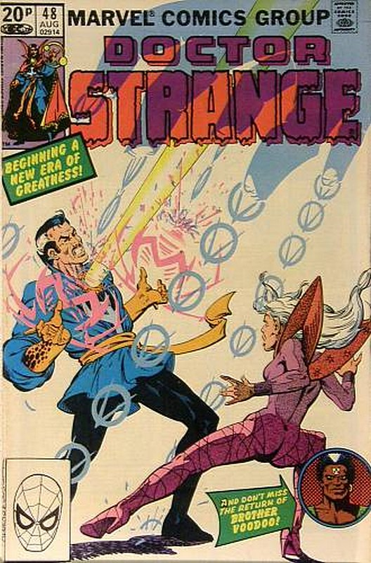 Cover of Doctor Strange (Vol 2) #48. One of 250,000 Vintage American Comics on sale from Krypton!