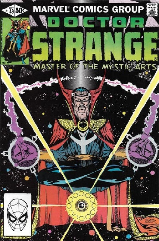 Cover of Doctor Strange (Vol 2) #49. One of 250,000 Vintage American Comics on sale from Krypton!