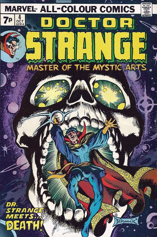 Cover of Doctor Strange (Vol 2) #4. One of 250,000 Vintage American Comics on sale from Krypton!