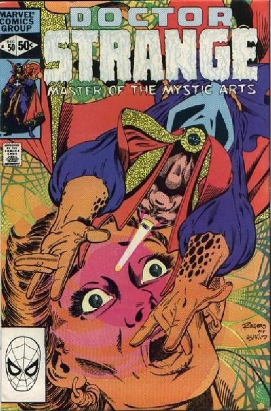 Cover of Doctor Strange (Vol 2) #50. One of 250,000 Vintage American Comics on sale from Krypton!