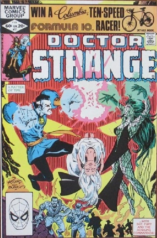 Cover of Doctor Strange (Vol 2) #51. One of 250,000 Vintage American Comics on sale from Krypton!