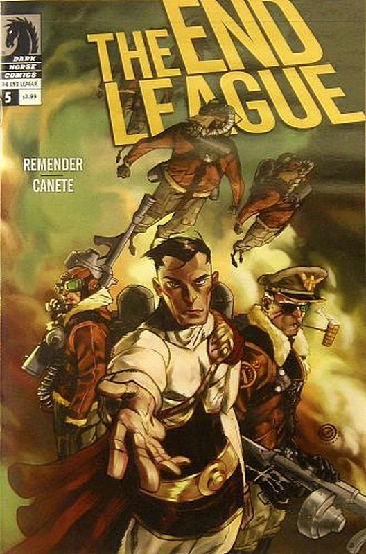 Cover of End League (Vol 1) #5. One of 250,000 Vintage American Comics on sale from Krypton!