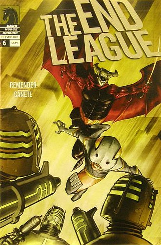 Cover of End League (Vol 1) #6. One of 250,000 Vintage American Comics on sale from Krypton!