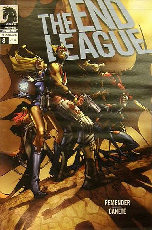 Cover of End League (Vol 1) #8. One of 250,000 Vintage American Comics on sale from Krypton!