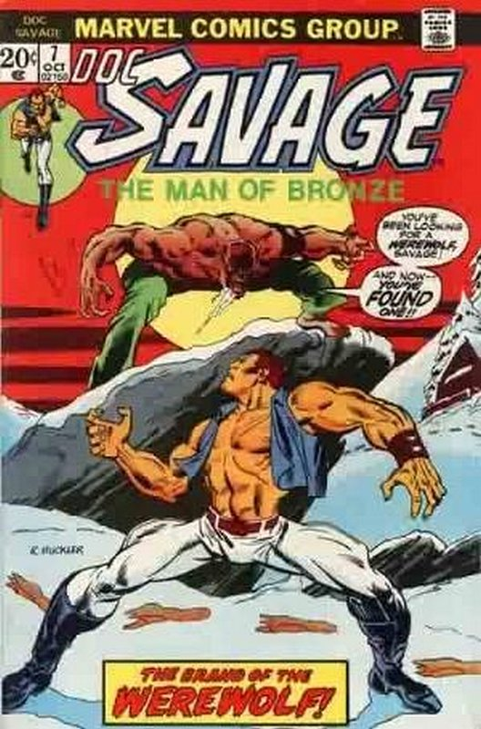 Cover of Doc Savage (Vol 1) (Marvel) #7. One of 250,000 Vintage American Comics on sale from Krypton!