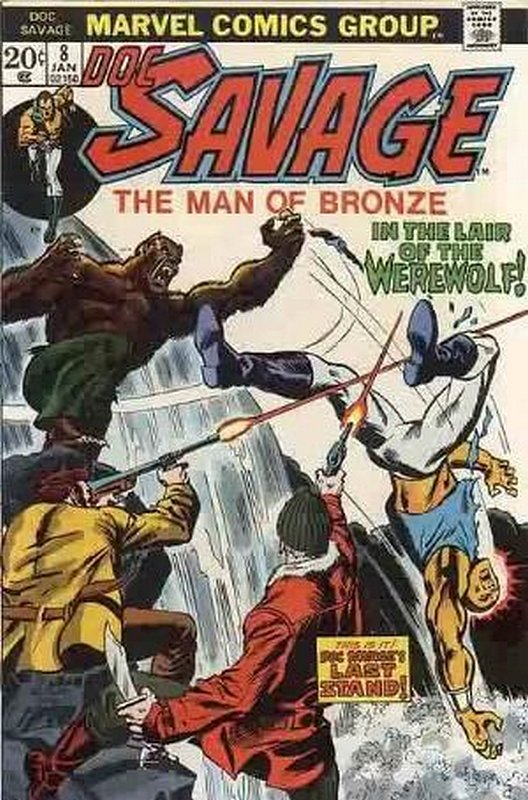 Cover of Doc Savage (Vol 1) (Marvel) #8. One of 250,000 Vintage American Comics on sale from Krypton!